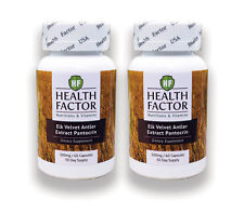 Elk Velvet Antler Extract, Pantocrin 120 Capsules 300 Mg (2 Month Supply)