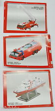 Miniatures Rescure 119 Part II Model Collection, 3pcs - Kaiyodo   ==