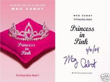 Meg Cabot SIGNED & DATED Princess in Pink, Diaries Series 1st/1st HC New