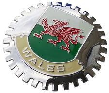 WALES car grille badge emblem (Welsh)