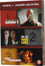 Samuel L. Jackson Film Collection Shaft Changing Lanes Rules Of Engagement - NEW