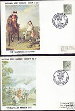 1971 National Army Museum, 4 covers, Lot 4427