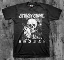 UNHOLY GRAVE 'Terror' T shirt (SOB Agathocles Mesrine Rot Insect Warfare)