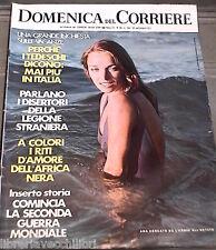 LA DOMENICA DEL CORRIERE 21 settembre 1971 Pinelli Wiesenthal Pienza Aslan di e