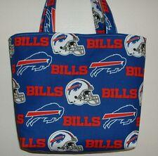 Handmade NFL Football Buffalo Bills Tote Purse Bag