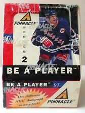 1997-98 PINNACLE BE A PLAYER HOCKEY - AUTOGRAPH IN EVERY PACK - SEALED BOX