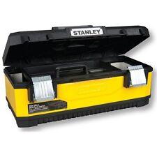 """STANLEY CASSETTA VALIGIA ALLUMINIO 50x30x23cm PORTAUTENSILI 20"""" Mod. 1-95-612"""