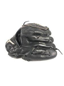 "Mizuno Prospect Power Close Baseball Glove 10"" GPP 1000Y1BK Left Hand LHT Black"