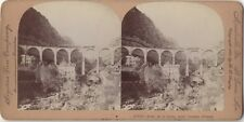 Pont du Loup près Cannes France Photo Stereo Stereoview Vintage