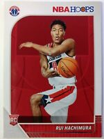 2019-20 Panini NBA Hoops Rui Hachimura Rookie RC #206, Washington Wizards