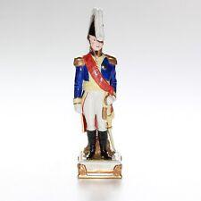 Sitzendorf Figurine, Napoleon Soldier Bertrand.