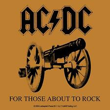 "Sticker ""For Those About To Rock"" Ac/Dc Acdc Album Cover Art Music Band Decal"