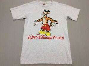 VTG 80S 90S TIGGER WALT DISNEY WORLD MICKEY MOUSE COSTUME T-SHIRT ADULT SMALL