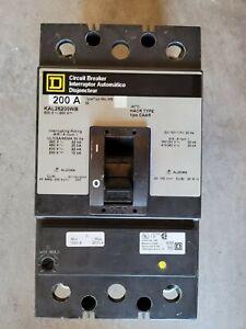 Square D Breakers KAL26200WB