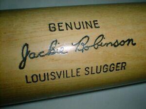 "36"" JACKIE ROBINSON Bat OLD VINTAGE STOCK Louisville Slugger BROOKLYN LA DODGERS"
