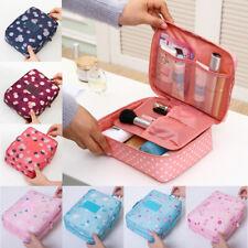 UK Large Makeup Bag Cosmetic Case Storage Hanging Organizer Travel Kit