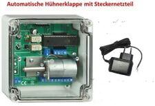 elektronischer Pförtner für Hühner- Enten- Gänse oder Taubenstall