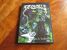 TROUBLE Live In Stockholm DVD PENTAGRAM OBSESSED CATHEDRAL NO LP CD