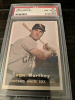 1957 Topps Ron Northey PSA 8 NM-MT (OC) #31. Chicago White Sox Baseball Card