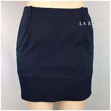 Lululemon Lab Buzi Mini Skirt Size 6 Inkwell Blue Workwear Casual Mini Rare NEW