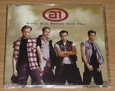 A1 Same Old Brand New You UK ENHANCED 4 TRACK CD SINGLE (CD 2) + POSTER MINT!!