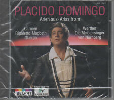 Placido Domingo Arien aus Carmen Rigoletto Macbeth Oberon CD NEU
