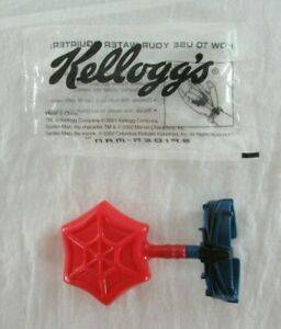 Marvel Spider-Man Movie Web Shooter Water Squirter Kellogg's Cereal Promo 2002