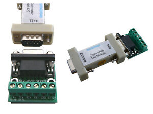 Changer RS-232/RS-422 - RS232 RS422