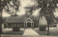 Taftville CT Cong Church c1910 Postcard