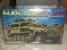 Dragon 1/35 Scale Sd.Kfz. 251 Ausf. C 3 In 1 - Factory Sealed
