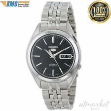 SEIKO 5 Watch SNKL23 Men's Stainless Steel Automatic Casual Silver from JAPAN