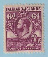 FALKLAND ISLANDS 59  MINT LIGHTLY HINGED OG *  NO FAULTS EXTRA FINE!