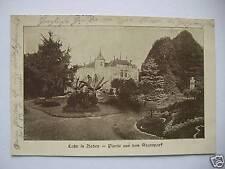 AK Lahr in Baden Partie aus dem Stadtpark 1915