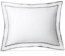 Lauren Ralph Lauren Spencer Border King Pillow Sham in Grey New Open Package