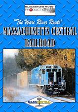 "THE MASS CENTRAL RAILROAD ""WARE RIVER ROUTE"" DVD"
