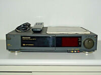 Panasonic NV-F77 VHS Videorecorder, S-VHS Playback, FB&BDA, 2Jahre Garantie