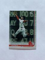 2019 Topps On Demand 3D Andrew Benintendi Red Sox Card #579 Print Run /540