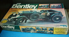 The Bentley 1930 4 1/2 Liter Racing Car 1/12 Scale Model Car MPC, Vintage 1982
