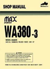 Komatsu WA380-3 Wheel Loader Shop Manual (0217)