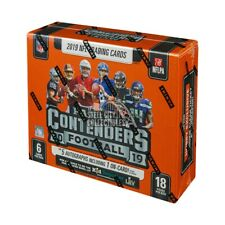 Panini Contenders Football Hobby Box - 5 Autoghraphs 2019