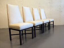 4 dining chairs designed by Roger Sprunger dunbar mid century modern