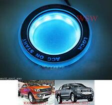For Ford Everest Ranger T6 Px2 Mk2 2012-2017 Ice Blue LED Ring Start Key Remote