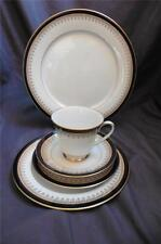 Noritake GRAND MONARCH 5 PC Place Setting Dinner Salad Bread Cup Sauce EX Mint