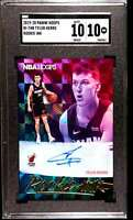 2019-20 HOOPS ROOKIE INK TYLER HERRO AUTO RC SGC 10