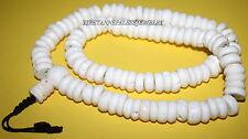 Tibetan Conch shell mala 108 Beads yoga prayer beads meditation mala buddha