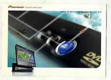 PIONEER - CAR AUDIO - AVIC - X1 UNIDAD DE NAVEGACION   (  ORIGINAL CATALOG )