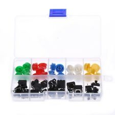 25 Pcs 12x12x7.3mm Momentary Tactile Push Button Touch Micro Switch 4P PCB w/Cap