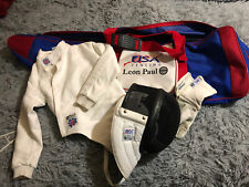 Exceptional Leon Paul USA Youth Fencing Gear Kit Left Handed .