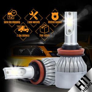 388W 38800LM LED Headlight Kit Light Bulbs 6500K White High Power H8 H9 H11 COB