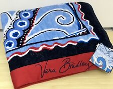 Vera Bradley Plush Beach Towel in Seaside
